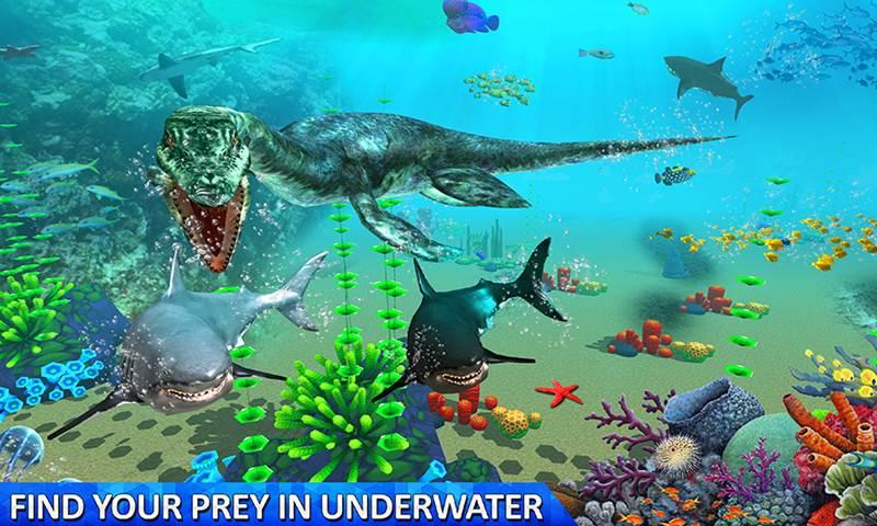 Ultimate Sea Dinosaur Monster World