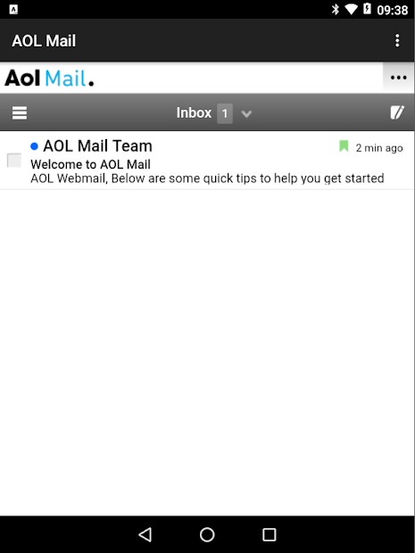 Webmail for AOL