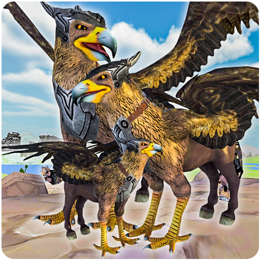 Wild Griffin Family Flying Eagle Simulator