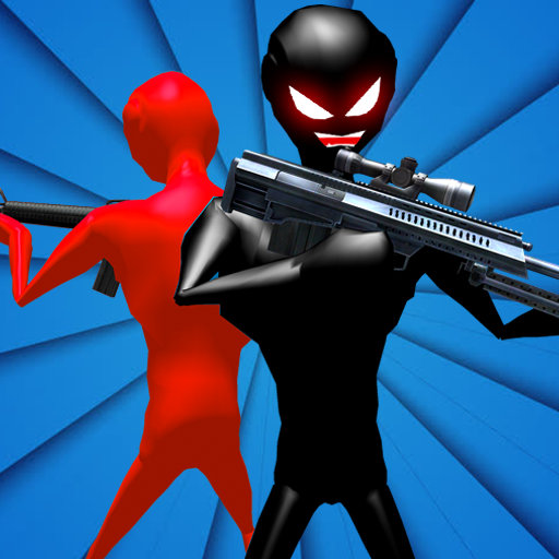 Angry Stickman Sniper Hero Crime Battle