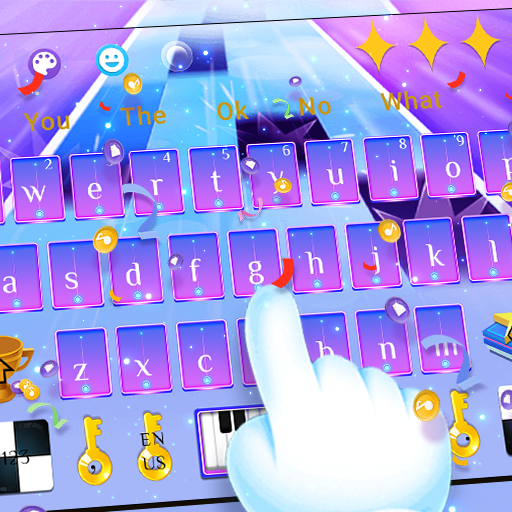 Anime Piano Tiles Keyboard Theme