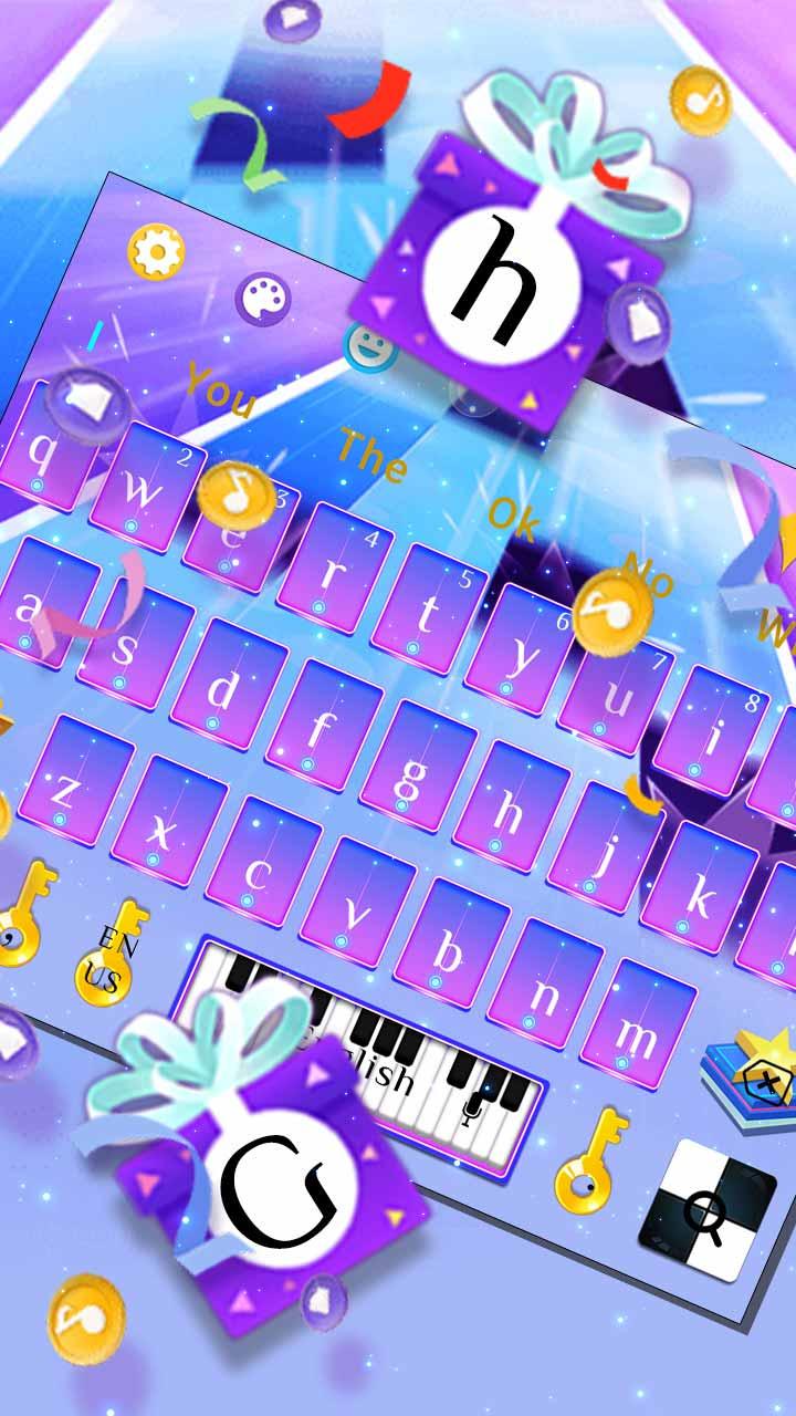 Anime Piano Tiles Keyboard Theme