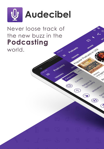 Audecibel: Podcasts Player