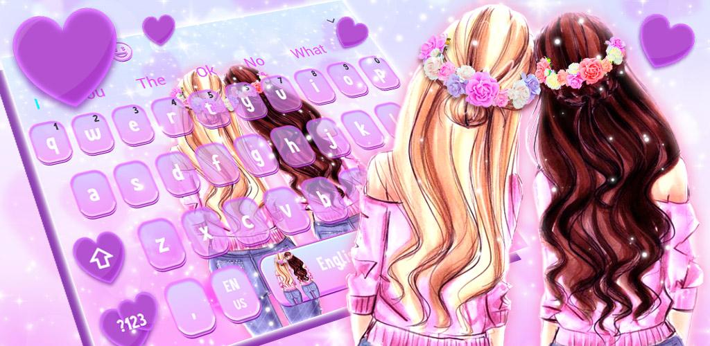 BFF Girls Keyboard Theme