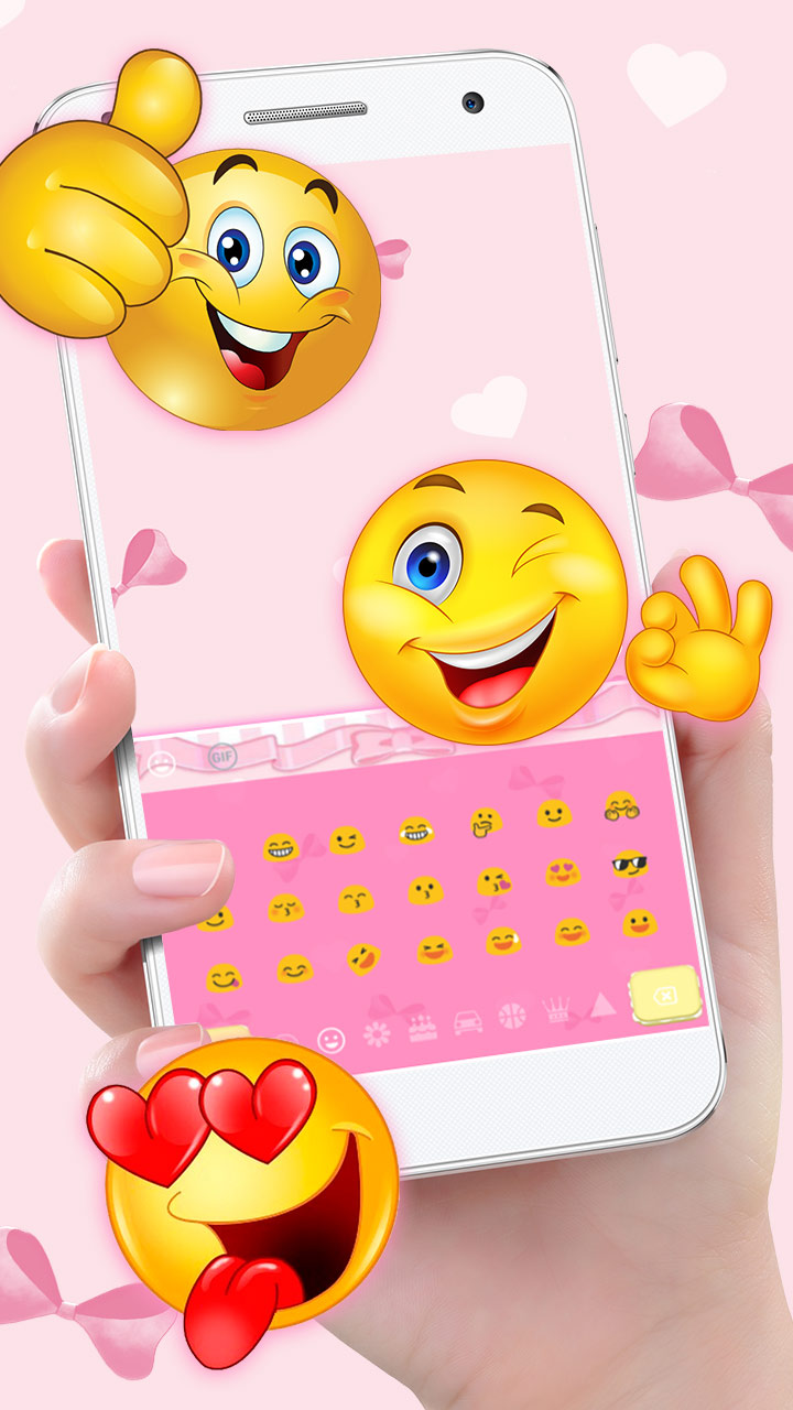 Colorful Tasty Macaroon Keyboard Theme