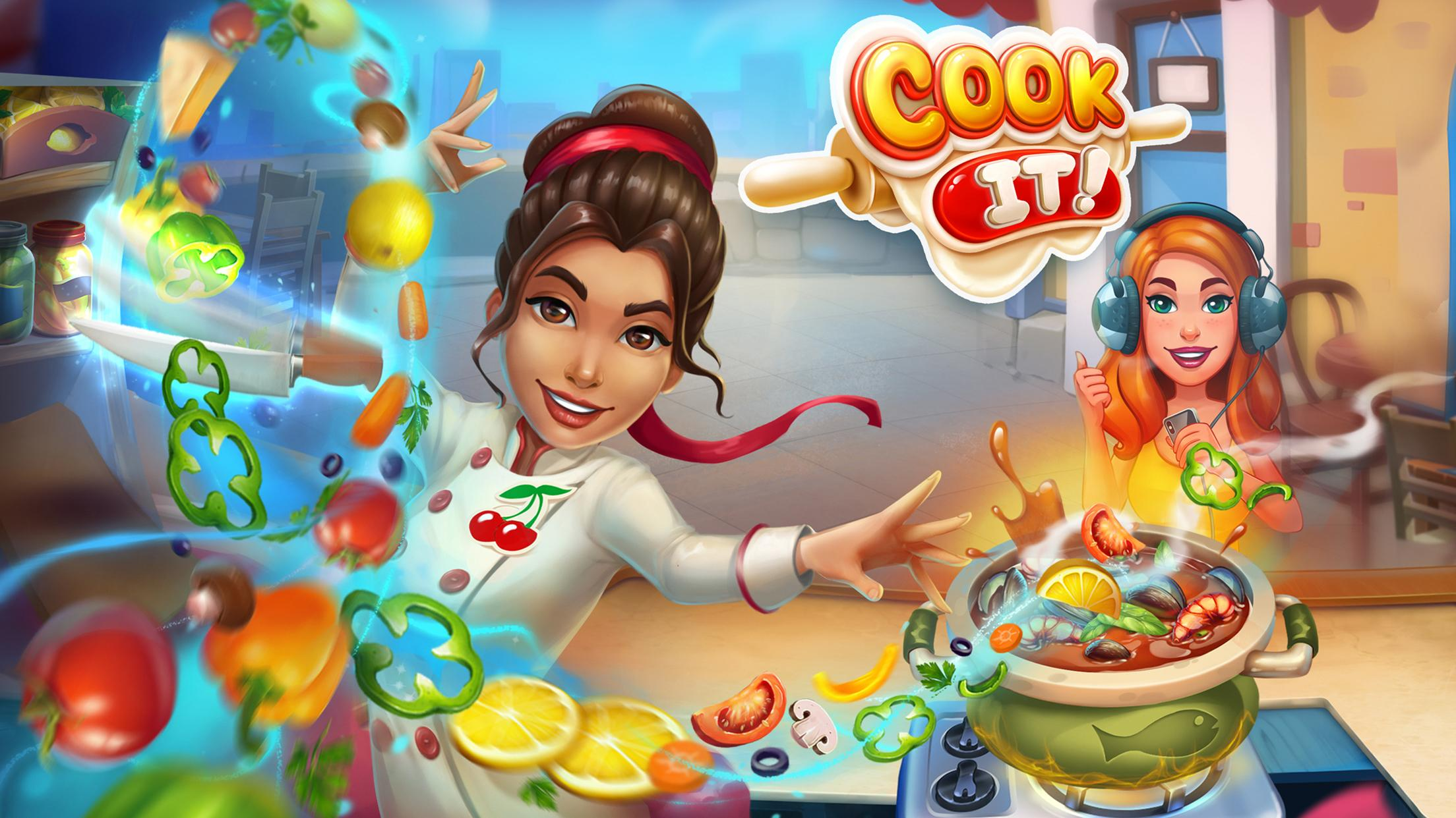 Cook It: Cooking-Frenzy Game