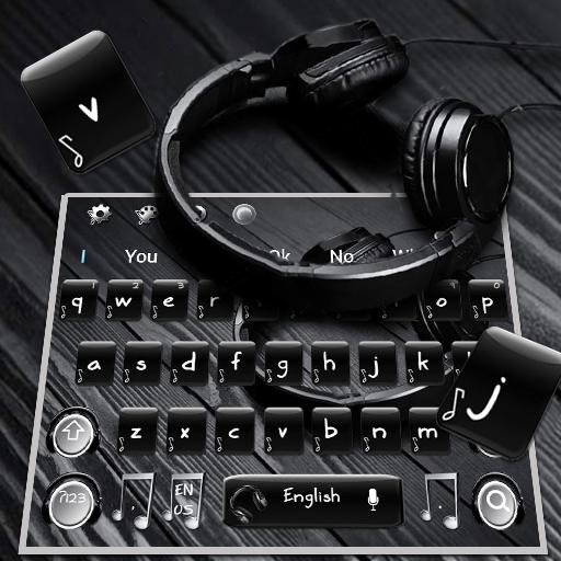 Cool Music Remix Keyboard Theme
