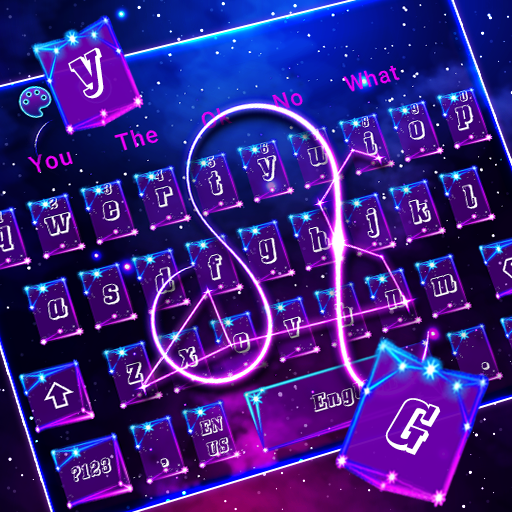 Galaxy Zodiac Sign Keyboard Theme