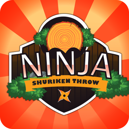 Ninja Games - Ninja Shuriken Throw