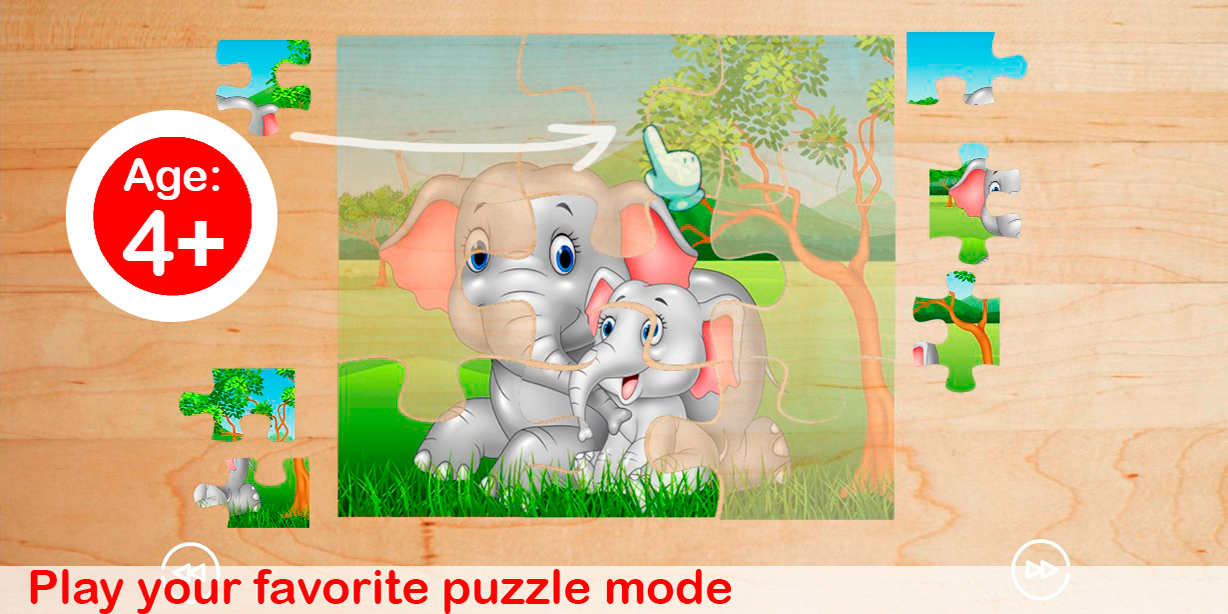 Kids Puzzle Pieces - Preschool Education