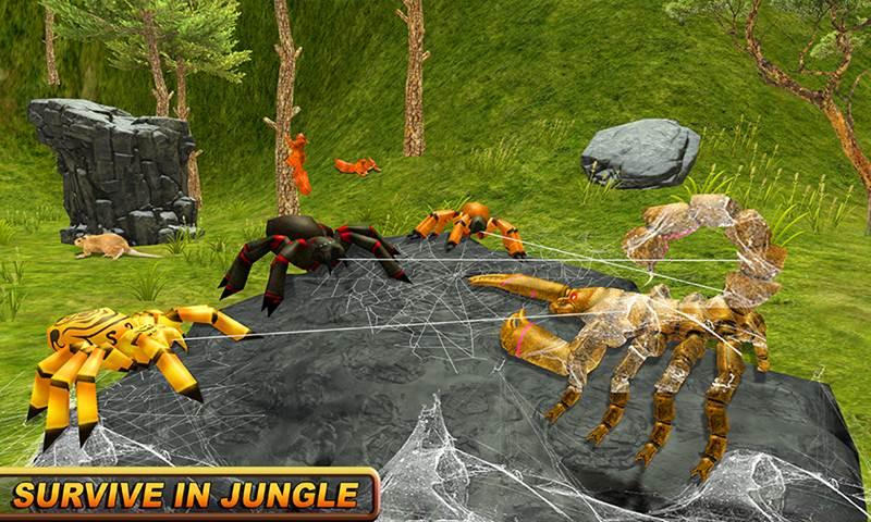 Life Of Wild Scorpion Family Simulator