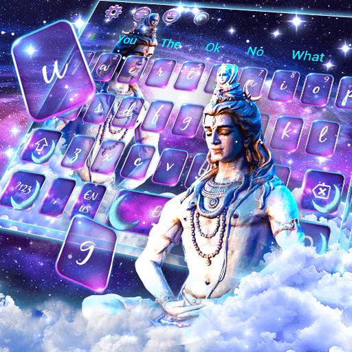 Lord Shiva God Keyboard Theme