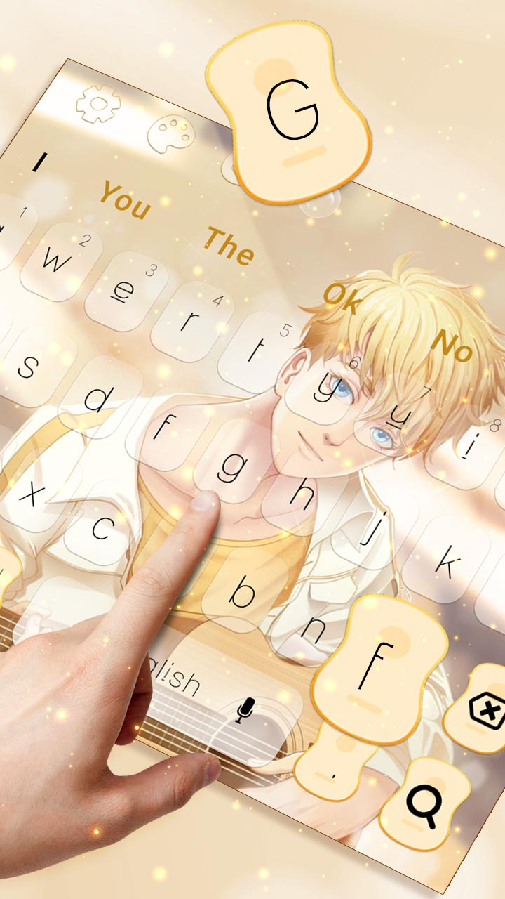 Love Kpop Music Keyboard Theme
