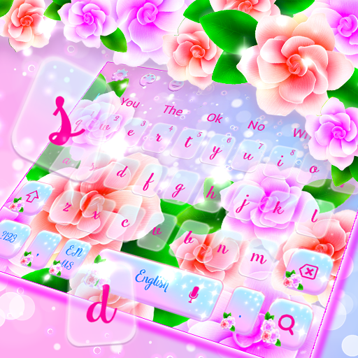 Lovely Spring Flower Keyboard Theme