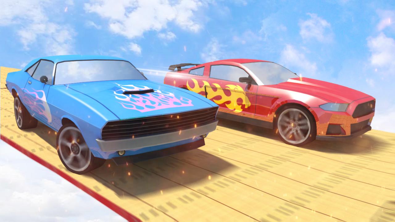 Mega Ramp Stunts - Impossible Mega Ramp Car Stunts