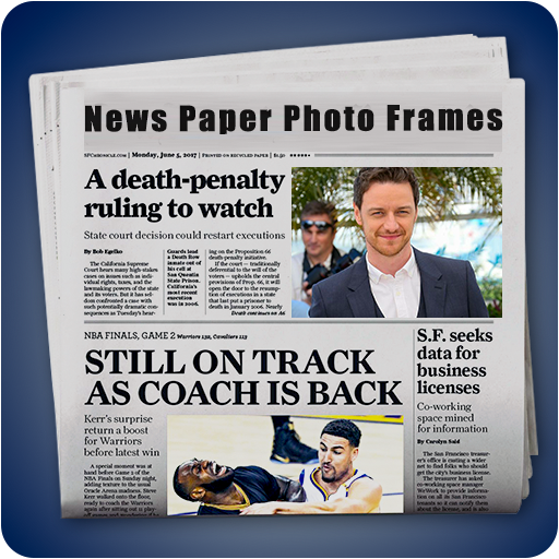 News Paper photo editor–Free newspaper photoframe