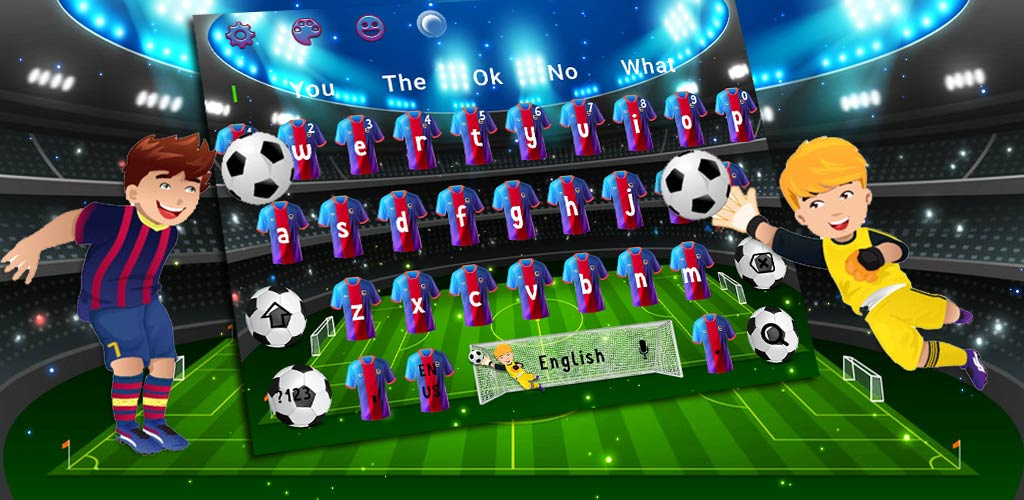 Real Football World Cup Keyboard
