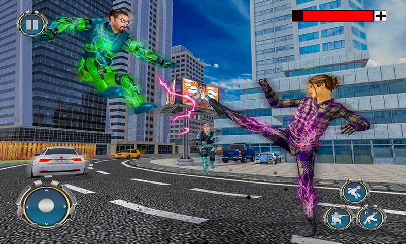 Speed Super Light Hero City Rescue Missions