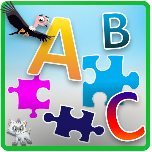 ABC Jigsaw Puzzle Game for Kids & Toddlers!