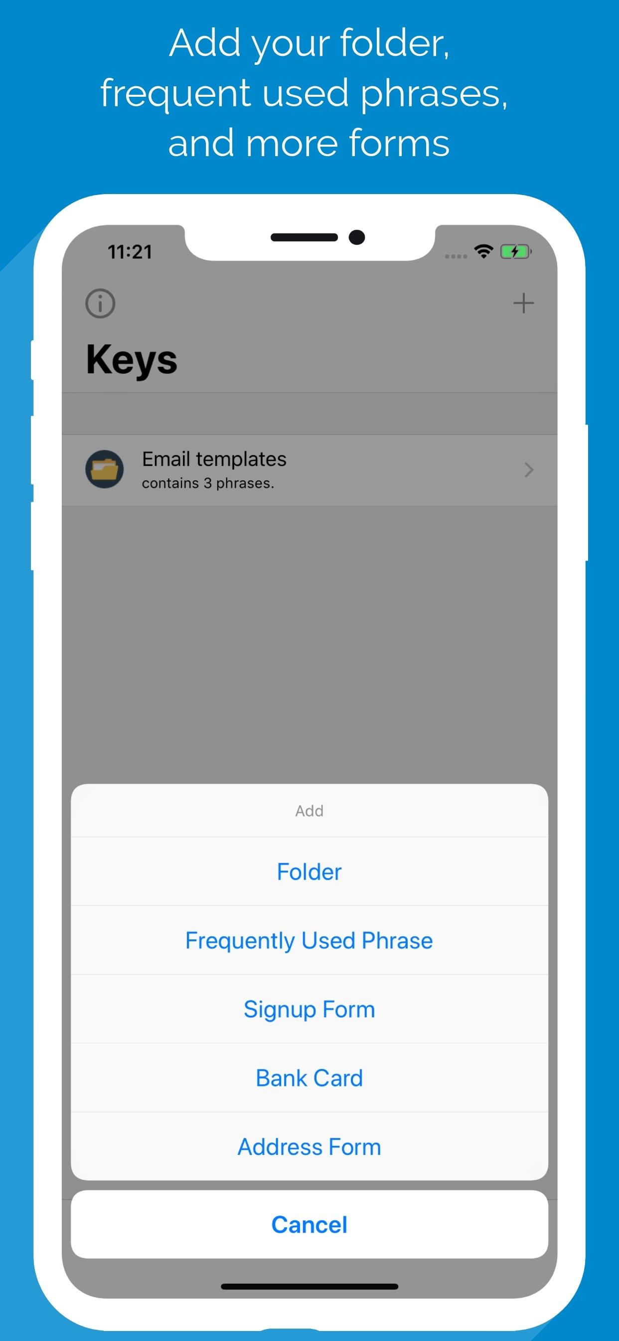 Bokhary - Shortcut Keyboard