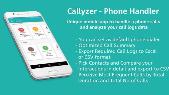Callyzer - Analysing Call Data