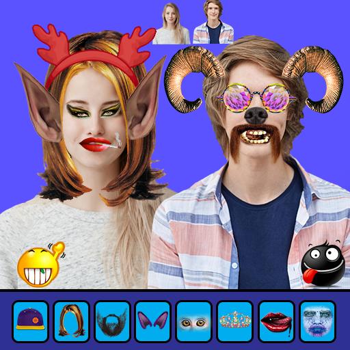Fun Camera - Funny Face Stickers Photo Editor