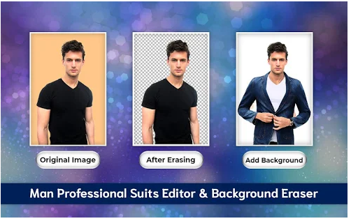 Men Casual Suit Photo Editor 2019- Men's Fashion