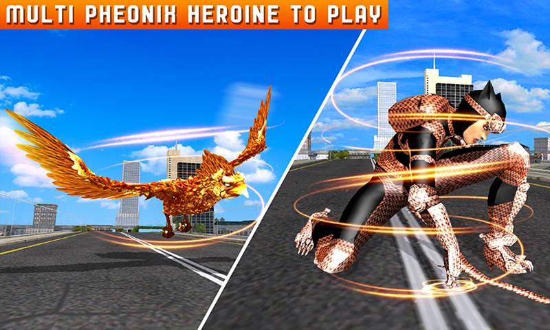 Multi Phoenix Heroine City Battle for Justice
