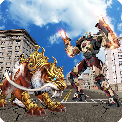 Multi Tiger Robotic Hero Real Transform Battle