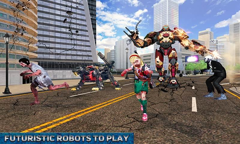 Multi Tiger Robotic Hero Real Transform Battle