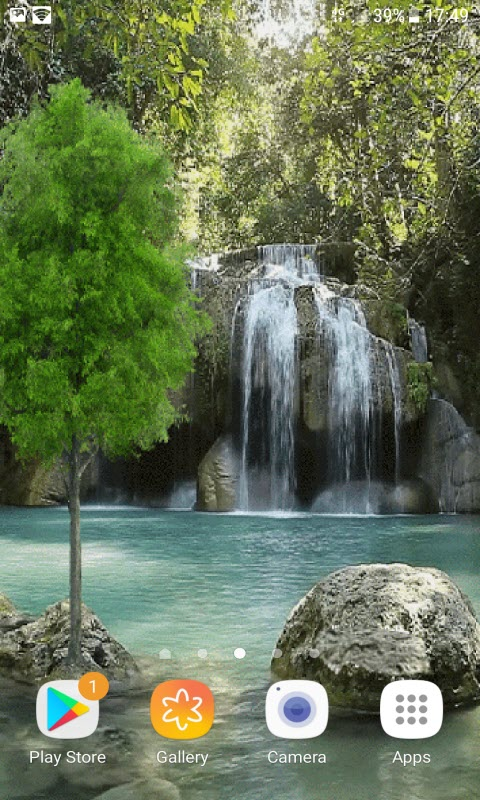 Nature Lake Fall LWP