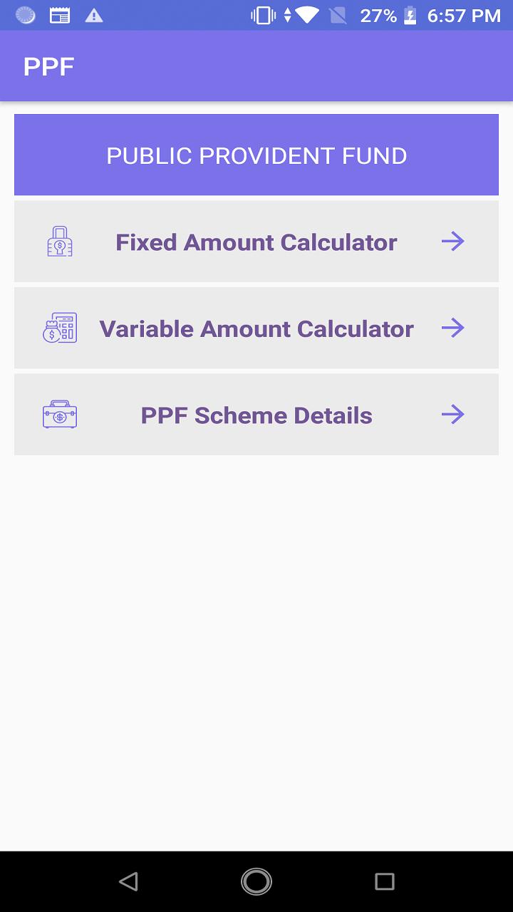 PPF Calculator