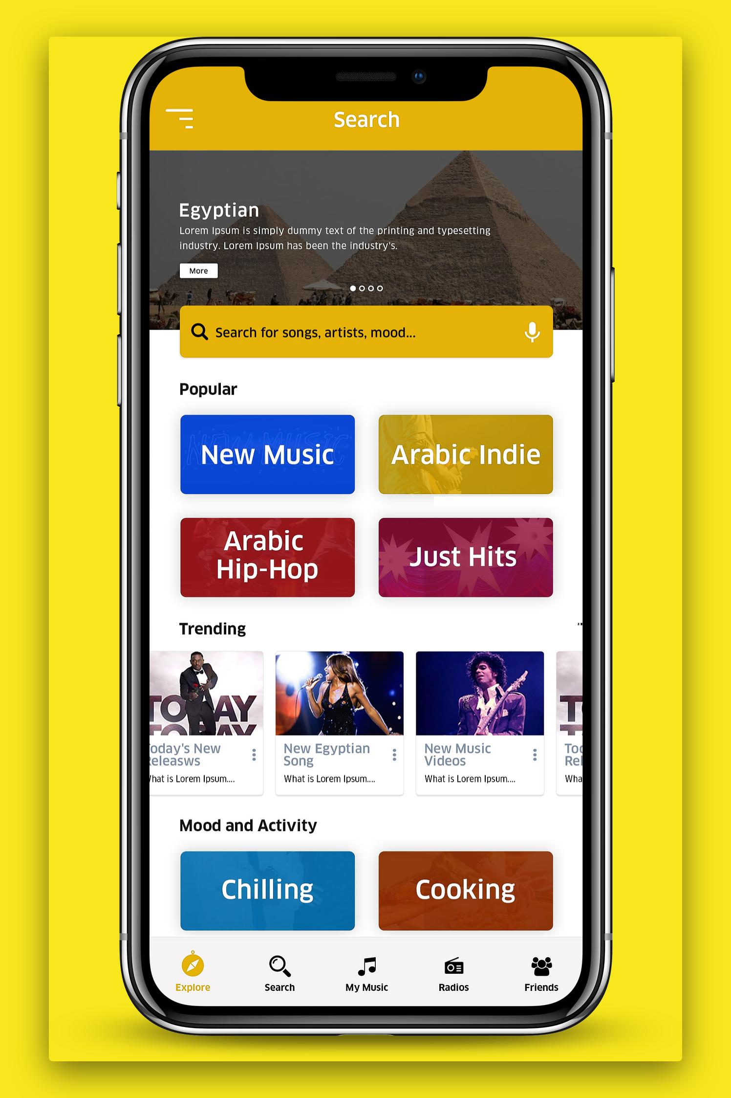 Sauteez - Music App
