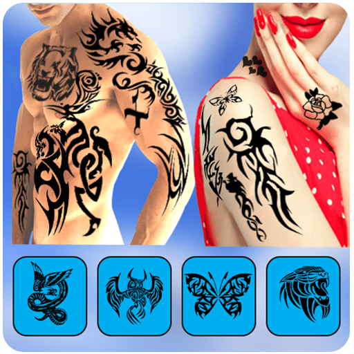 Tattoo On your Photo, Tattoo Design Editor