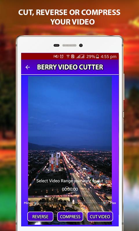 VidCuter – Compress, Reverse & Cut Video