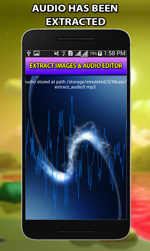 Video to Audio -image extract