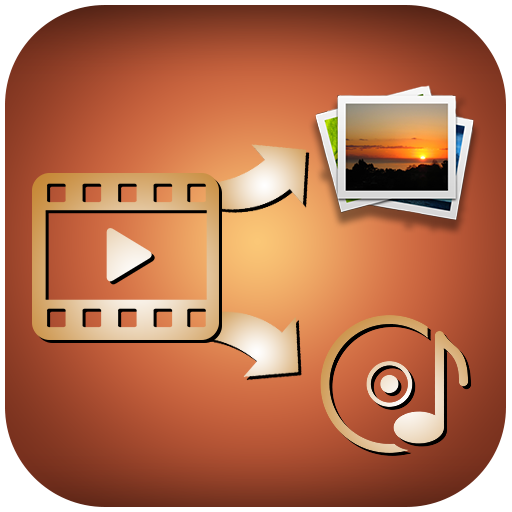 Video To Audio, Video To Images Extractor