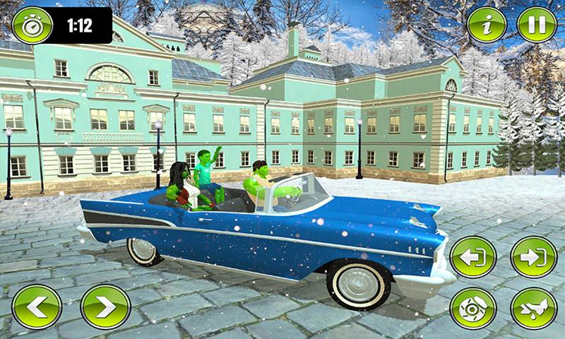 Virtual Monster Family Simulator Game