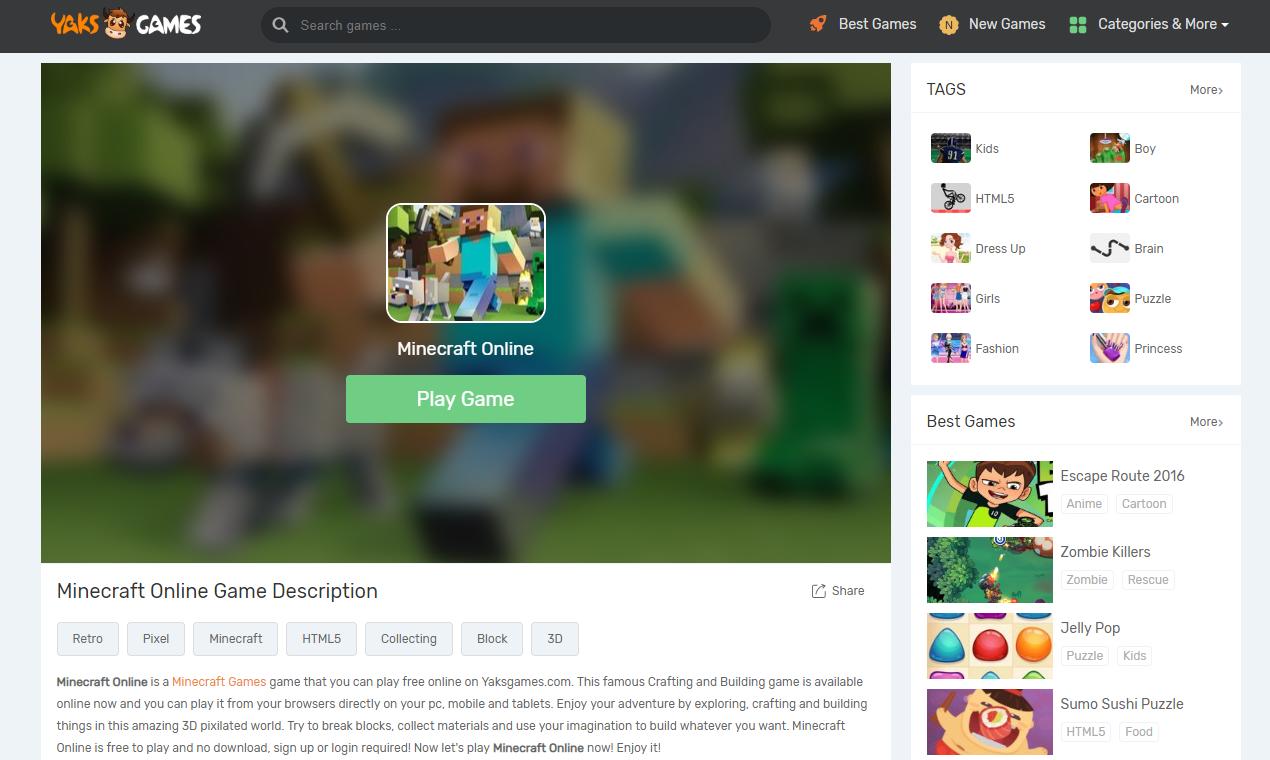 YaksGames - Free Online Games