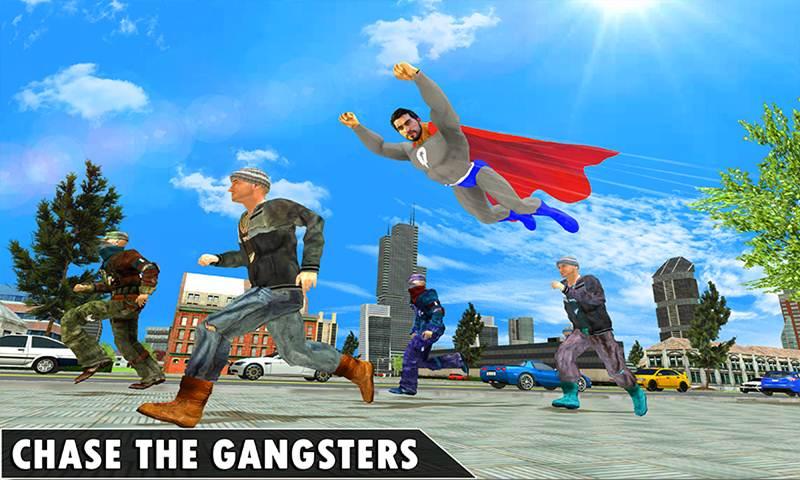 Black Hero Super Rope Man Crime Battle