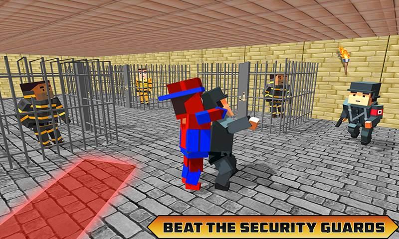 Blocky Prison Plan Grand Escapist Survival