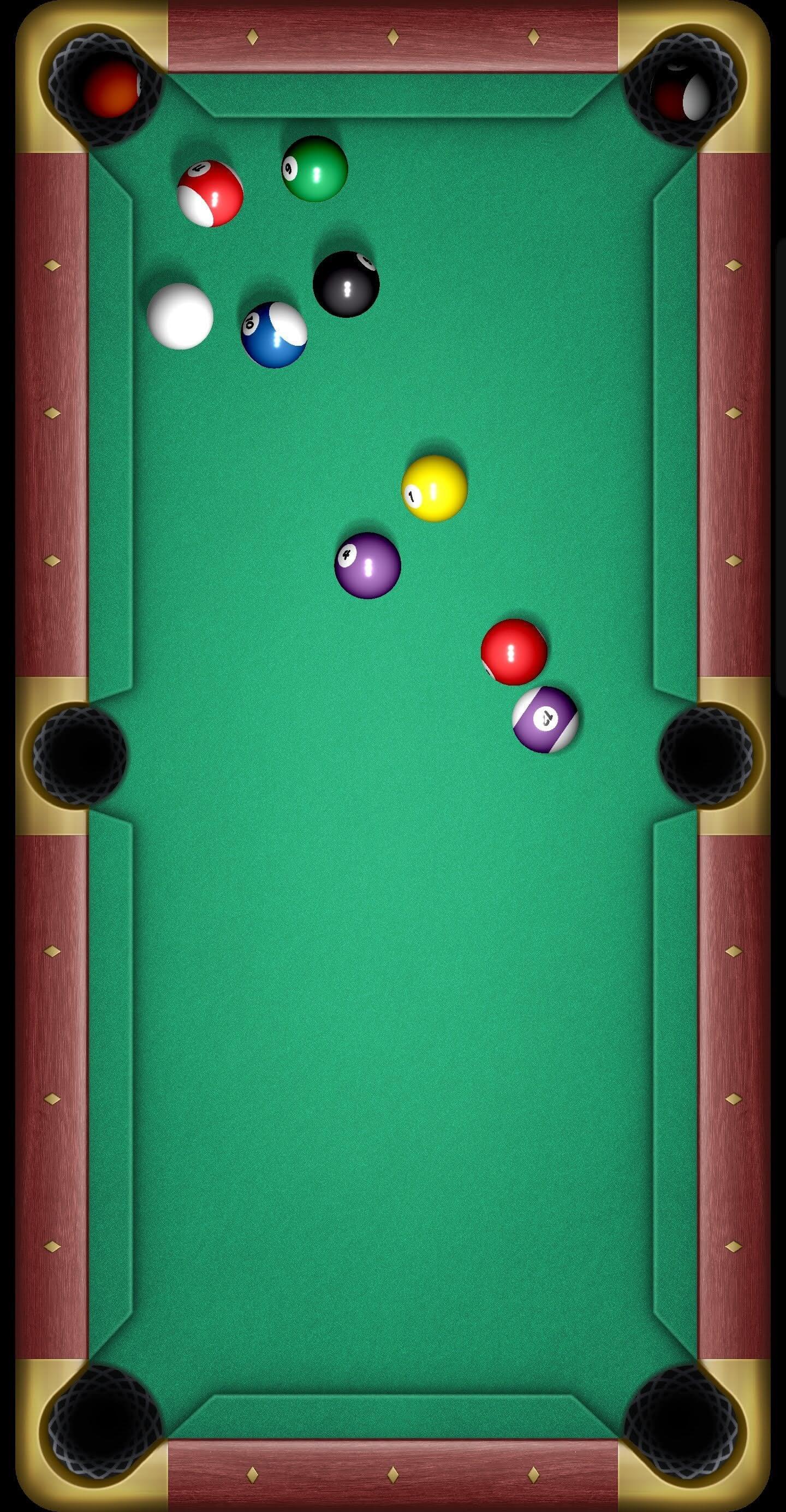 Casual Pool: Touching Billiard