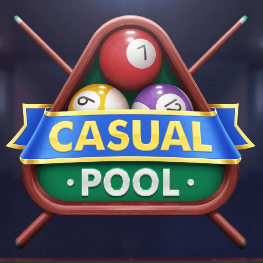 Casual Pool: Touching Billiard