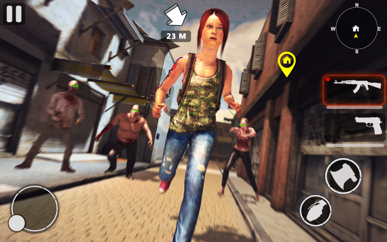 Death Invader: Zombie Survival Shooting Game