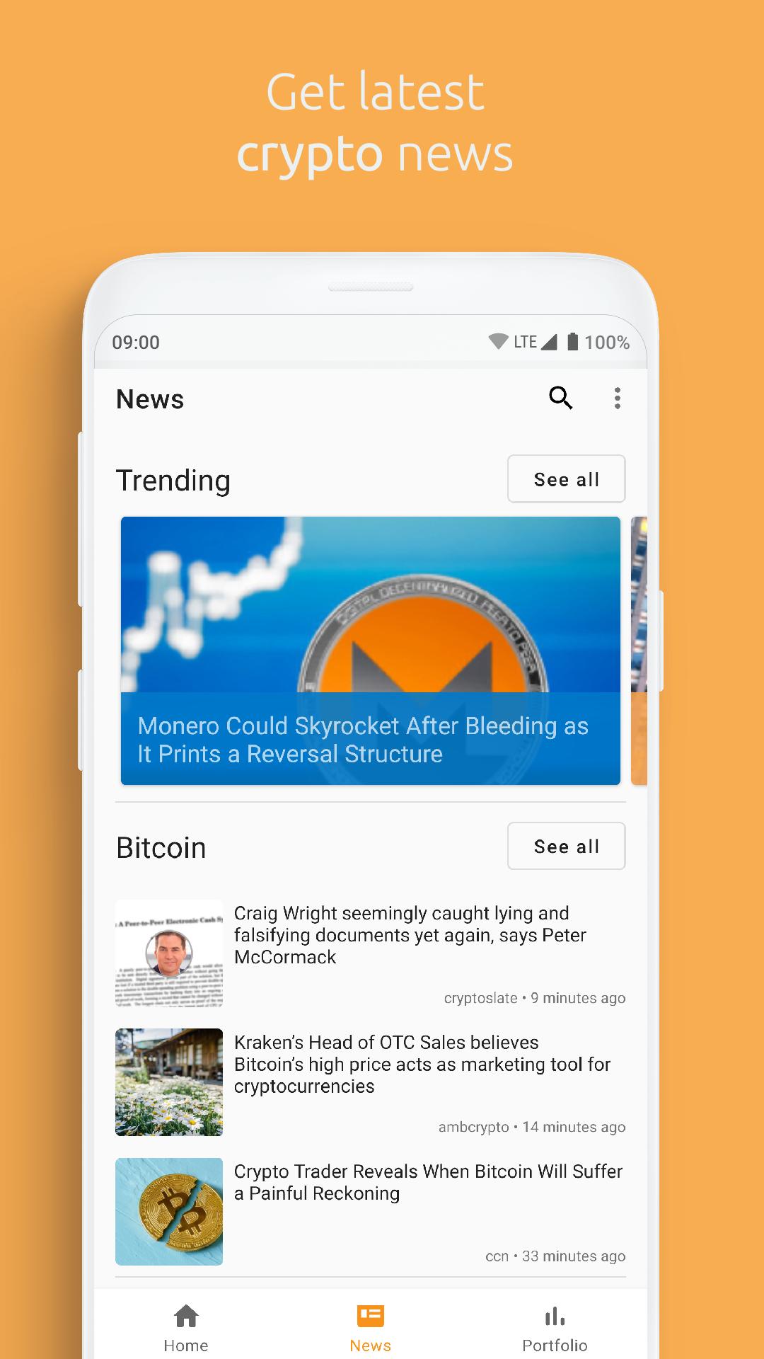 Mooney - Track Your Cryptocurrency Portfolio