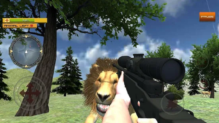 Area 51- sniper shooting game