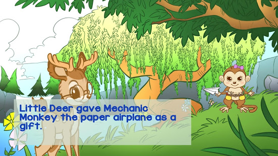 Little Deer Engineer and the Paper Airplane