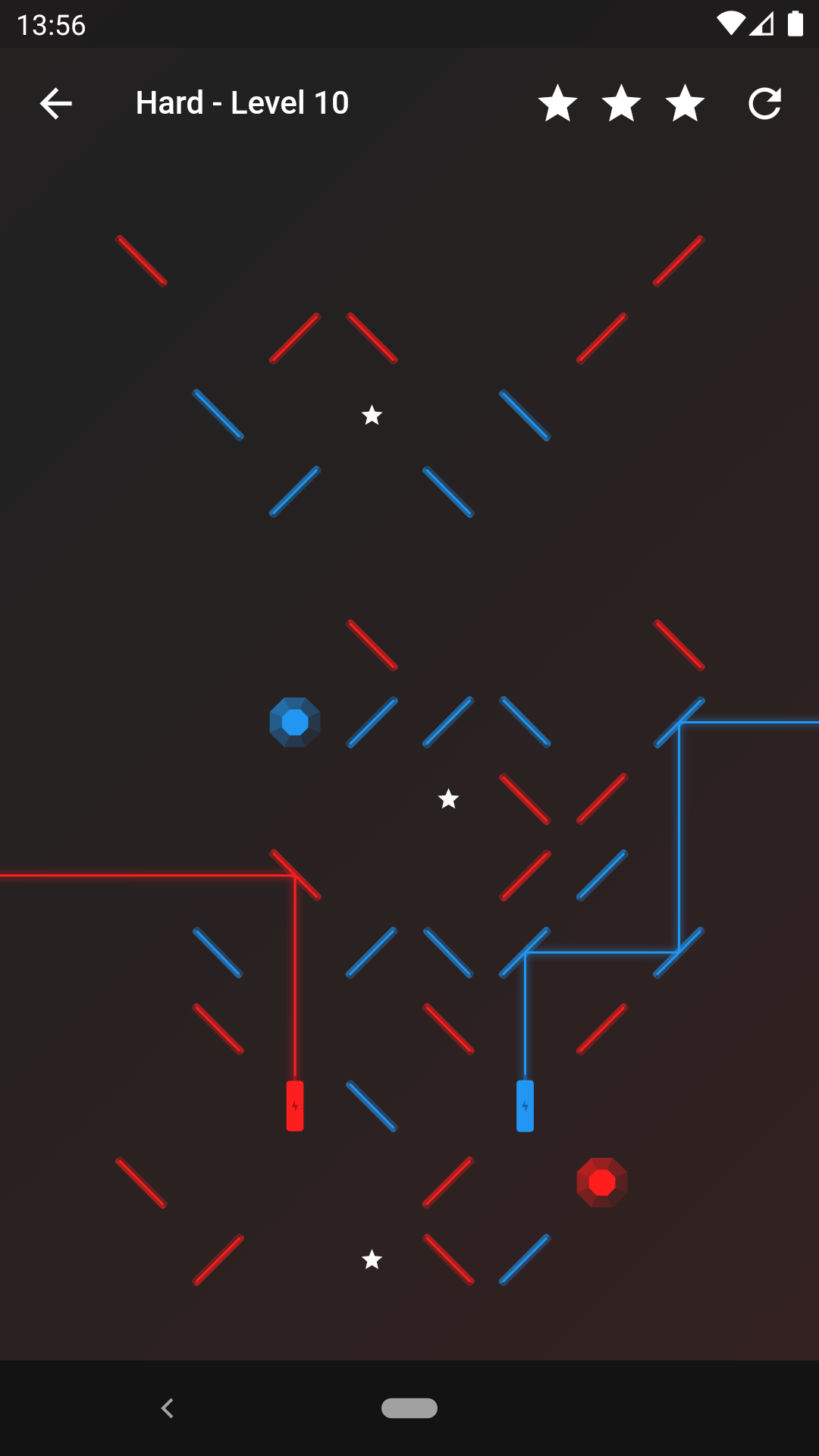 Laser Reflection - Puzzle game