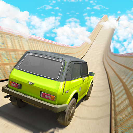 Mountain Climb - Mega Ramp