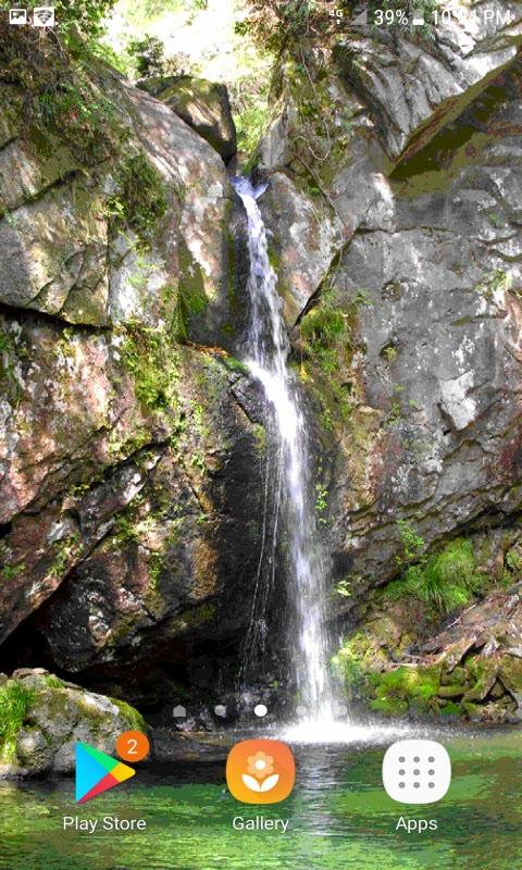 Mountain Water Live Wallpaper